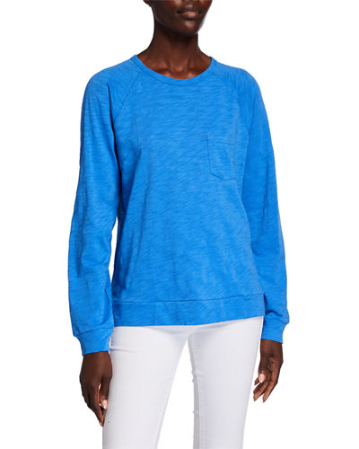 Long-Sleeve Pocket Sweatshirt