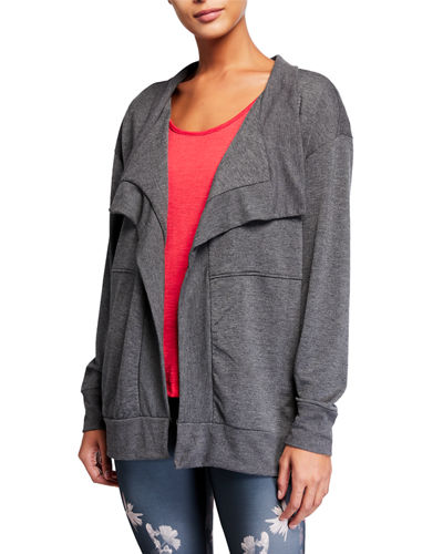 Plus Size Charlotte French Terry Cardigan