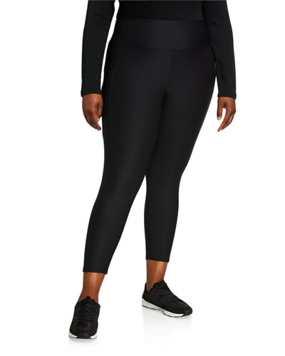 Plus Size Eclipse Side-Pocket Leggings