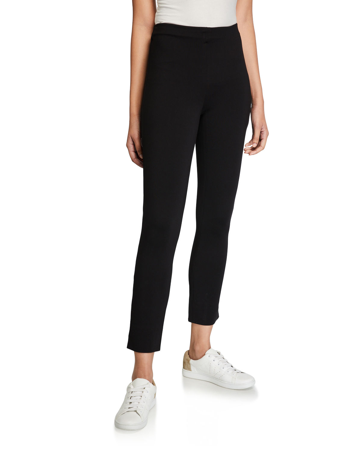 Vince Pants SLIM-FIT PULL-ON CROPPED TROUSERS