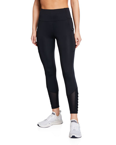 Aiden Tummy Control Pleated Leggings