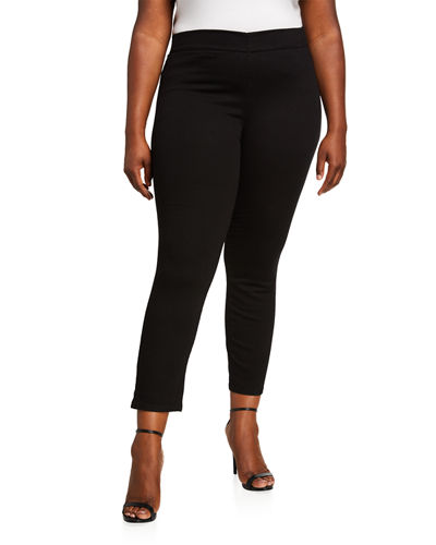 Plus Size Alina Skinny Pull-On Ankle Pants