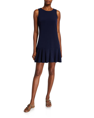 Ryder Flounce-Hem Jersey Tank Dress