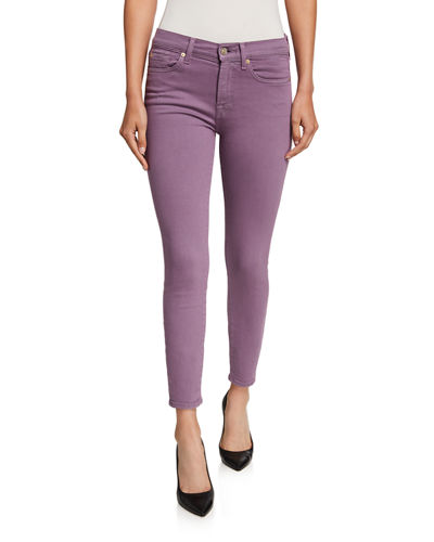 Ankle Gwenevere Squiggle-Pocket Jeans