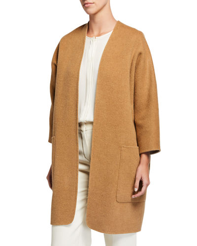 Reversible Cardigan Coat