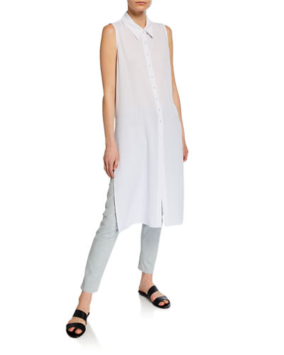 Long Sleeveless Tunic