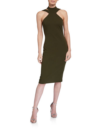 Halter-Neck Bodycon Dress