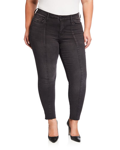 Plus Size Mid-Rise Signature Skinny Jeans