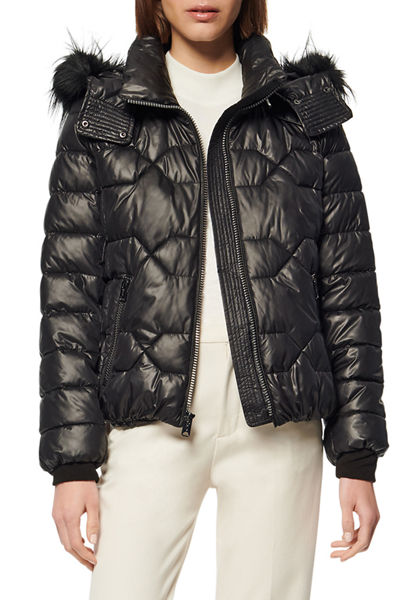 Ponce Quilted Bomber Jacket