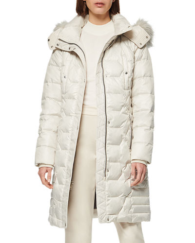 37 Belted Down Puffer Coat
