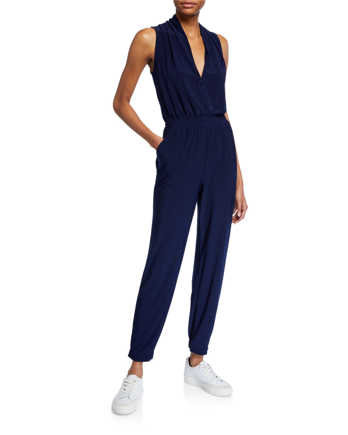 Laundry By Shelli Segal Suits ATHLEISURE JERSEY JUMPSUIT