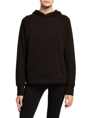 Sara Split Back Fleece Hoodie