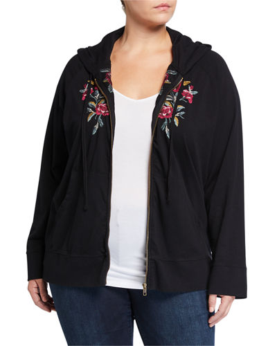 Plus Size Marmont Zip-Up Hoodie