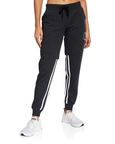 Fleece Joggers with Double Taping