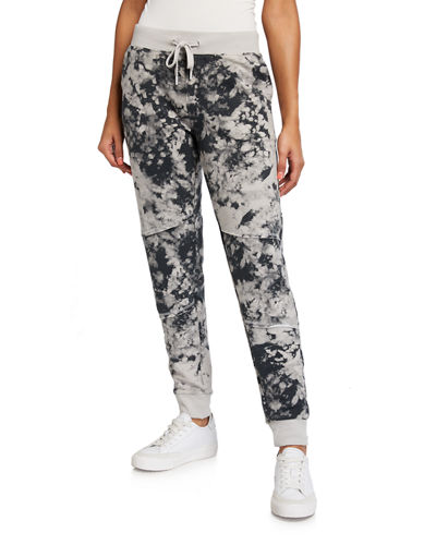 Tie-Dye French Terry Joggers