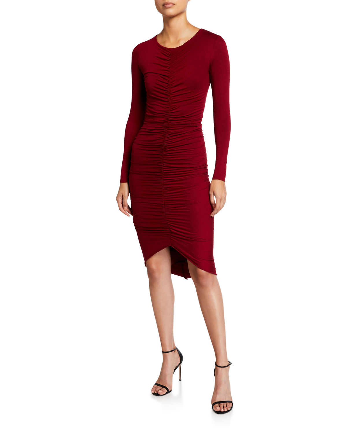 Bailey44 Dresses HIGH-ROLLER RUCHED BODY-CON DRESS