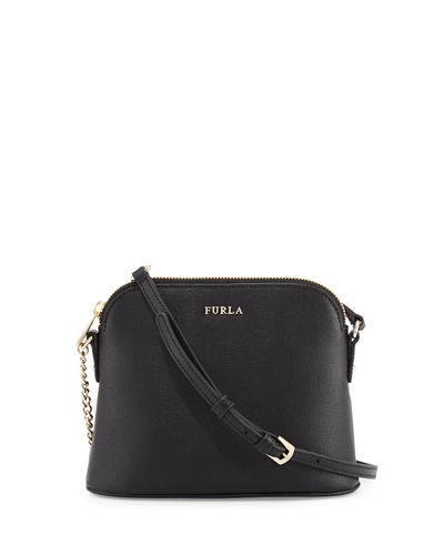 Miky Chain Leather Crossbody Bag