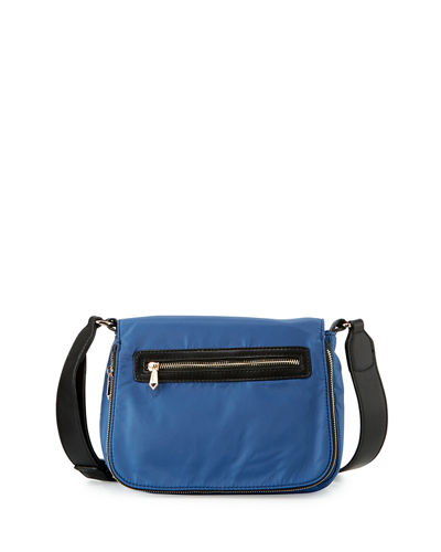 Charlie Nylon Messenger Crossbody Bag
