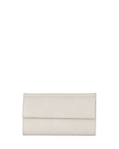 Saffiano Euro Wallet Clutch Bag