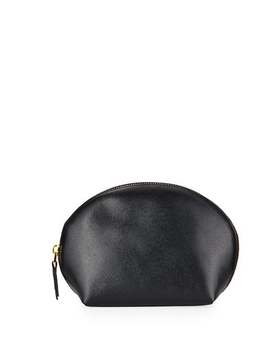 Saffiano Large Dome Cosmetic Bag