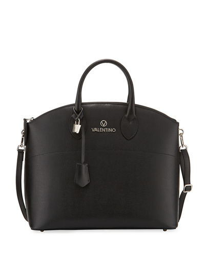 Bravia Saffiano Leather Tote Bag