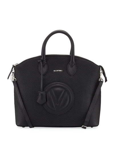 Bravia Perforated Leather Tote Bag