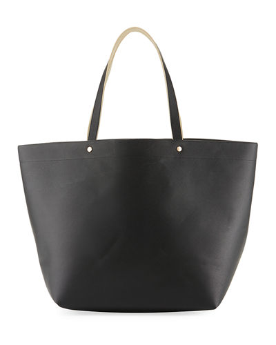 CONTRAST LARGE TOTE