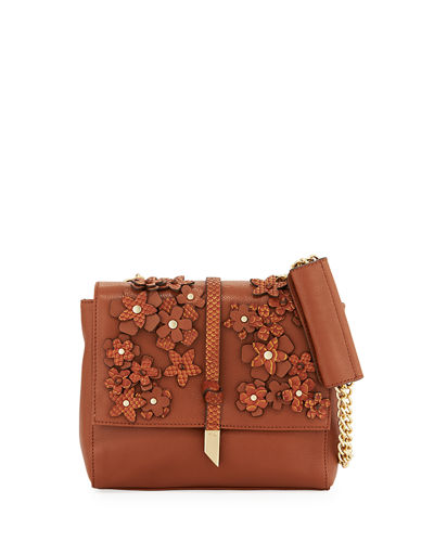 Dahlia Flower Chain Shoulder Bag