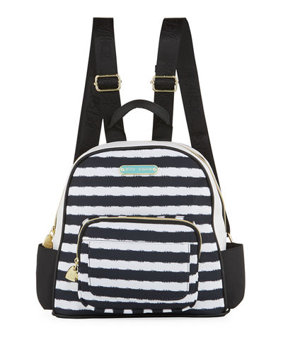 Medium Nylon Printed Backpack, Multi