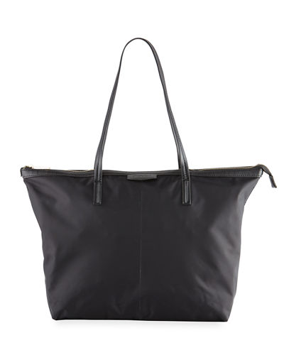 Miley Nylon Zip-Top Tote Bag