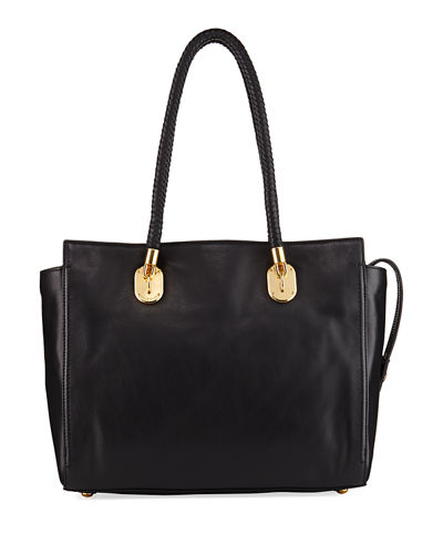 Benson II Leather Work Tote Bag