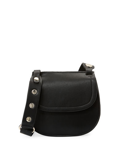 Celia Smooth Saddle Bag
