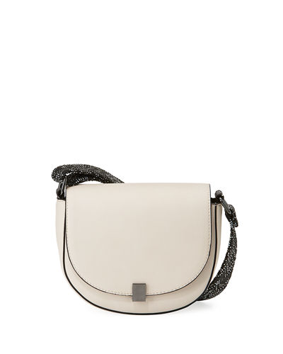 Mia Smooth Saddle Bag