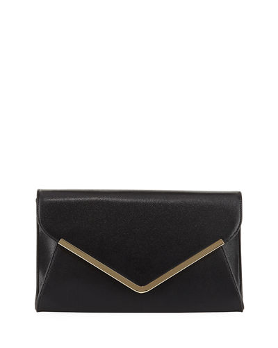 Envelope Saffiano Clutch Bag