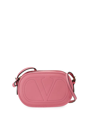 Smooth Logo Crossbody Bag