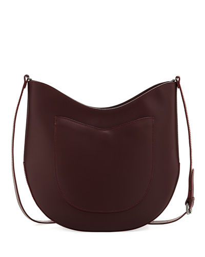 Smooth Leather Saddle Bag