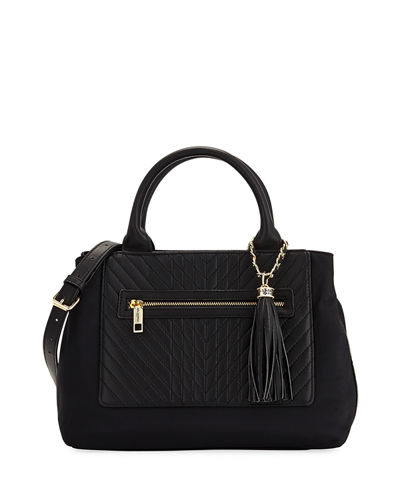 Misto Nylon Satchel Bag