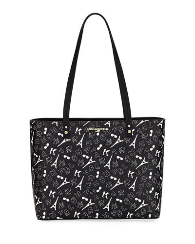 Maybelle Novelty Print Tote Bag