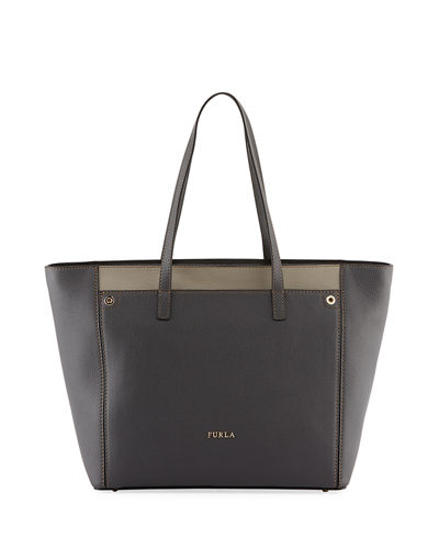 Teresa Large Colorblock Leather Tote Bag