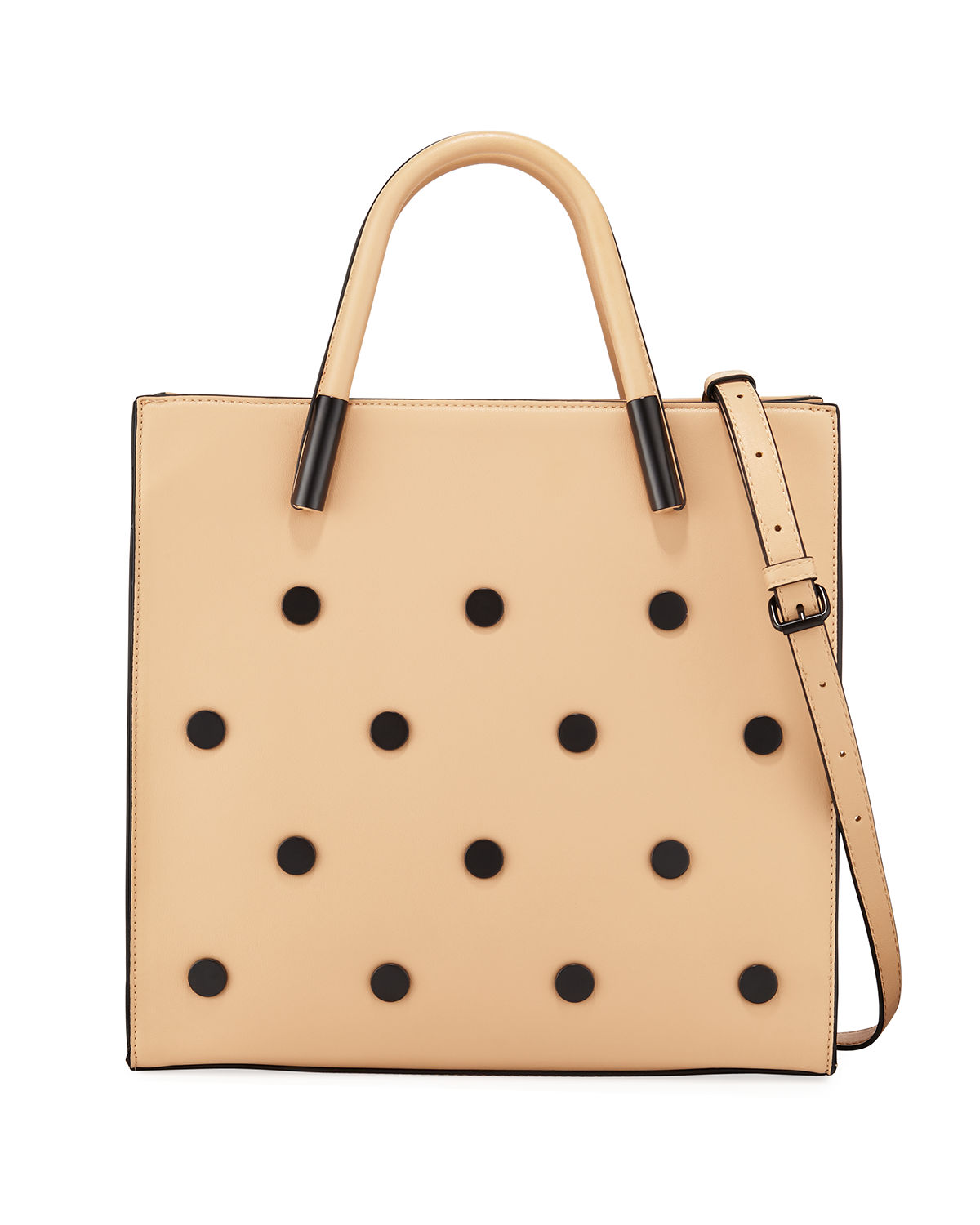 Betsy Round Stud Tote Bag