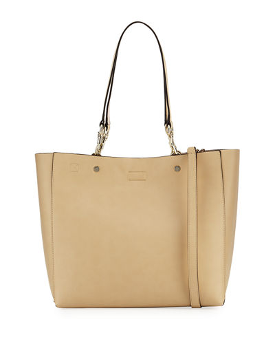 Adele Smooth Leather Tote Bag