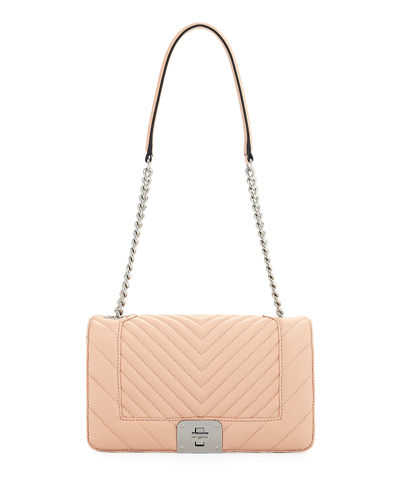 Karl Lagerfeld Paris Lara Quilted Leather Box Shoulder
