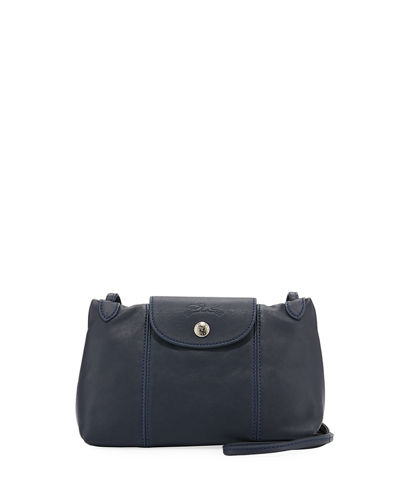 Le Pliage Cuir Small Crossbody Bag
