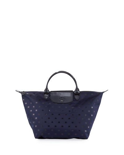 Le Pliage Etoiles Medium Handbag