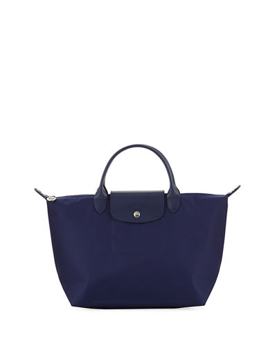 Le Pliage Néo Medium Handbag with Strap