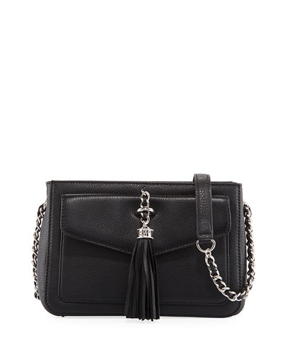 Tess Pebbled Leather Crossbody Bag