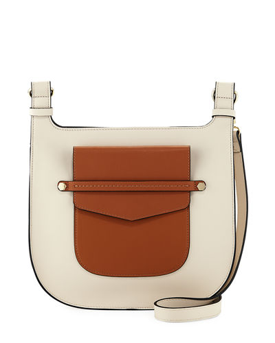 Lake Como Two-Tone Saddle Bag