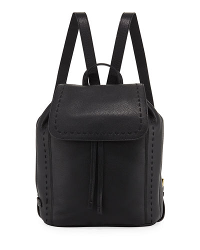 Ivy Pickstitch Leather Backpack