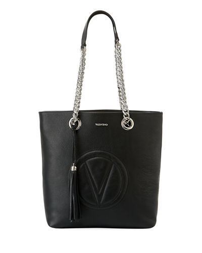Marylin Sauvage Leather Shoulder Bag