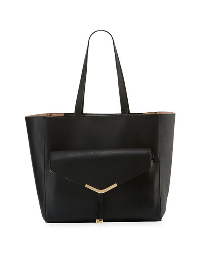 Neiman Marcus Day to Night Shoulder Tote Bag